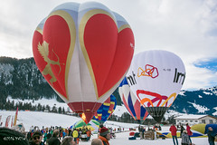 Festival international des ballons Château d'Oex 2016-0301 (yvesw_photographies) Tags: show hot montagne balloons landscape schweiz switzerland suisse air meeting paysage ballons chaud vaud nacelle waadt festivalinternationnaldeballonschâteaudoex