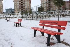 Çayırova'dan Kar Manzaraları 12