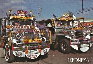 Manila - Jeepneys 1983