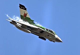 ZA405  TORNADO  12sqn  RAF