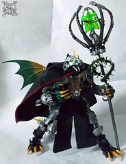 Draphina, Dragonborn Mistress (TheOneVeyronian) Tags: dragon lego fantasy bionicle moc constraction anthropomorph ccbs