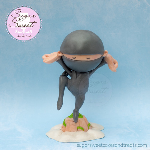 Hello Ninja Cake Topper