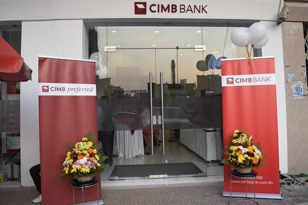 ធនាគារ CIMB សម្ពោធ Preferred Center ជាផ្លូវការ សាខាផ្សារហេងលី