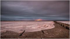 Wasteland (Chas56) Tags: sunset canon landscape salt can environment saltflats harsh wasteland saltworks geelong saltpan harshenvironment