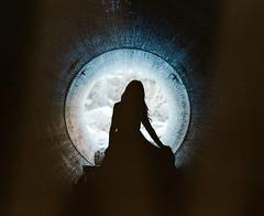 Darkness (darylovejr) Tags: portrait film dark colorado pentax fort tunnel dreams medium format dreamy expired lucid 90mm collins pentax67