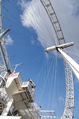 london 2016 - southbank promenade (fabonthemoon) Tags: london architecture londoneye southbank londres londen architctuur