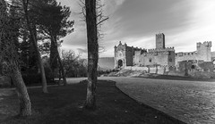 Érase una vez... / Once upon a time... (...in the woods...) Tags: castle fairytale arquitectura medieval fortaleza javier fortress castillo navarra medievo ancienttimes