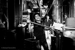 Market Boy (Rich Friend) Tags: street portrait people urban smile face work thailand alley asia chinatown market bangkok cities documentary labour trade reportage