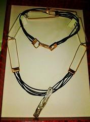 Simona1 (Albe Gioielli Jewelry) Tags: leather bronze forest silver necklace pendant 925 madeinitaly foresta argento giusy collana bronzo cuoio ciondolo albegioielli malandruccolo