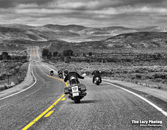 June 7 2014 - Beheaded for Cody (lazy_photog) Tags: color headless photoshop photography highway run basin harley poker lazy bighorn cody davidson gooseberry elliott riders selective photog worland 060714pokerrunandothers