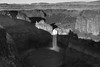 Palouse Falls in Shadow (scottwyden) Tags: new monochrome landscape us waterfall washington place unitedstates united nj location falls jersey states lacrosse populated palouse nxnw palousefalls newjerseynj unitedstatesus populatedplacenj nxnw2015