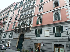 Mansion end 19th century at Via Morelli in Naples (Carlo Raso) Tags: italy naples mansion