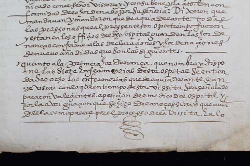 1600 Indios Hospital Medicina Perú Lima ordinances-manuscript Invisible Fragmentoebay.comc