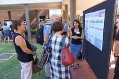 Poster session - Catherine Travis (jocreates2day) Tags: chief posters committee advisory investigators coedlfest16