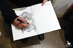 La Fabrique des Images #2 (Pegasus & Co) Tags: urban streetart art colors painting skull graffiti artwork paintings arts dessin peinture menatwork bd artistes urbain tarek pochoir   basto arturbain   geometrik  yarps  fabriquedesimages pompetti   josjover  matelb galeriephilippegelot