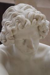 Le Désespoir (Despair) (1869, Jean-Joseph PERRAUD) @ Musée d'Orsay (annelaurem) Tags: paris france statue museum despair marble orsay muséedorsay ledésespoir jeanjosephperraud