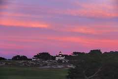 Point Pinos Lighthouse at Sunset (GeminEye27) Tags: sunset lighthouse pacificgrove pointpinos montereypeninsula