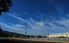 2016_02_16 Clouds over Martinez, CalifClarity (Walt Barnes) Tags: ca blue sky cloud skyline clouds canon eos scenery scene calif martinez topaz amtrakstation 60d canoneos60d topazadjust eos60d wdbones99 wdbones