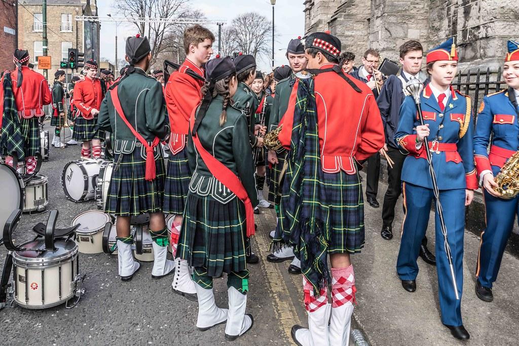 SHORECREST HIGH SCHOOL [ST. PATRICK'S PARADE IN DUBLIN 2016]-112237