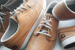 Michael Lau. (Nicholas Fung) Tags: wood shoe michael boat shoes skateboarding sneakers nike stefan skate sample skateboard sneaker jano sb woodgrain collector lau swoosh leath janos boater nikesb janoskis janoski