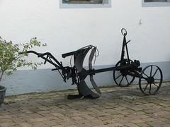 Pflug (dorisgoebel) Tags: old alt landwirtschaft plow agriculture pflug