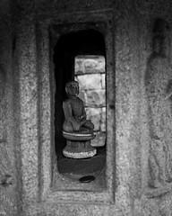 Little Buddha (G. Morgenweck) Tags: travel white black stone temple asia buddha buddhist religion korea wonju guryongsa