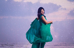 A Whole New World <3 (Rahul Ravindaran) Tags: world new sky love girl happy dance mood vibrant ngc whole bliss chennai tone