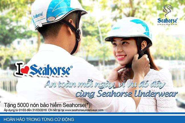 """""""An toàn mỗi ngày, vi vu đó đây cùng Seahorse Underwear"""