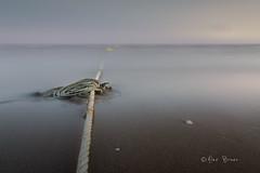 Line on the Horizon (Alex Bravo - alejandrobravophoto.wordpress.com) Tags: longexposure blue sunset sea seascape water canon landscape mar spain tokina1224 canon40d alexbravo alexbravophoto