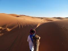 Sahara Desert (rouxlignes) Tags: sky sun sol sahara sand desert morocco marrakech marrocos merzouga