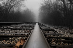 RailRoadWalk-2 (ArtofScholle) Tags: road morning nature fog contrast canon march outdoor walk foggy indiana rail rr rails kit stm lawrenceburg 2016 70d 18135mm