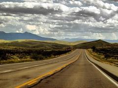 Texas emptyness (saxonfenken) Tags: road game vanishingpoint texas empty winner vastness perpetual yellowline 6814 challengeyouwinner pregamewinner 6814land