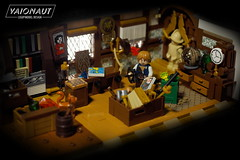 Captain's Cabin (Vaionaut) Tags: brown cabin ship lego interior pirates olympus depthoffield historical vignette moc potc reddishbrown legovignette legopirates tiefenunschärfe kajüte legoadventures legoadventurers qparts imperiumdersteine legopotc