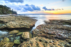 Jervis Bay, New South Wales, Australia (Xuberant Noodle) Tags: new sunset wales bay south australia hdr jervis