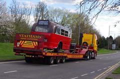 IMGP0079 (Steve Guess) Tags: uk england bus museum cub surrey gb cobham trailer weybridge leyland brooklands byfleet