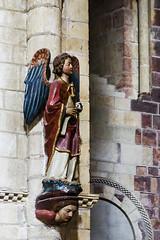 ... iconodulia ... (Lanpernas 2.0) Tags: art angel stairs arte iglesia escalera len icono celestial figura mitologa romnico policromada sanisidorodelen escheriano