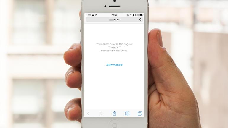 របៀបបិទគេហទំព័រផ្សេងៗ កុំឲ្យអ្នកដទៃបើកបាន នៅលើ iPhone និង iPad
