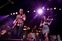 Jason Isbell and Amanda Shires (redrospective) Tags: people london musicians concert photos gig instruments spotlights 2016 jasonisbell amandashires brooklynbowl 20160417