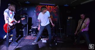 Ssssnakes @ Crossbonefest // Shot by Daniel Buyle