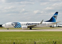 SU-GDX (AnDrEwMHoLdEn) Tags: manchester airport 737 manchesterairport egcc egyptair 23l