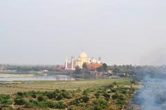 View from the Fort (cn174) Tags: india march taj mahal tajmahal agra redfort agrafort uttarpradesh yamuna akbarabad thetajcity
