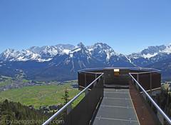Tuftlalm Aussichtsplattform April 2016 (bergschreiber) Tags: april 2016 aussichtsplattform tuftlalm miemingergebirge lermooseralm