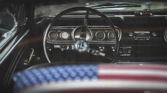 [ My vision of American Dream | Ford Mustang ] ([ YOANNOLIVIER | Photographie ]) Tags: old school usa ford car canon eos muscle interior dream american mustang stm v8 voitures intrieur 6d 24105 volant vieilles amricaines compteurs f47