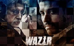Wazir 2015 Hindi film analysis -An emotional thriller - #Bigb, #Farhanakthar, #Wazir - cinemababu (cinemababu) Tags: bigb wazir farhanakthar