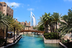 Palm Canal (Mishmush97) Tags: tree canal spring al dubai palm east arab souk middle jumeirah burj madinat