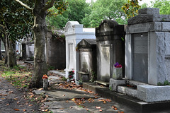 New Orleans - Von LaHache (Drriss & Marrionn) Tags: usa cemetery grave graveyard concrete outdoor neworleans headstone tomb graves funeral mausoleum granite sarcophagus burial marble tombs lafayettecemetery deceased gravefield vaults crypts neworleansla