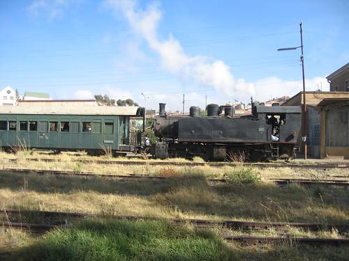 Charcoal train in Asmara