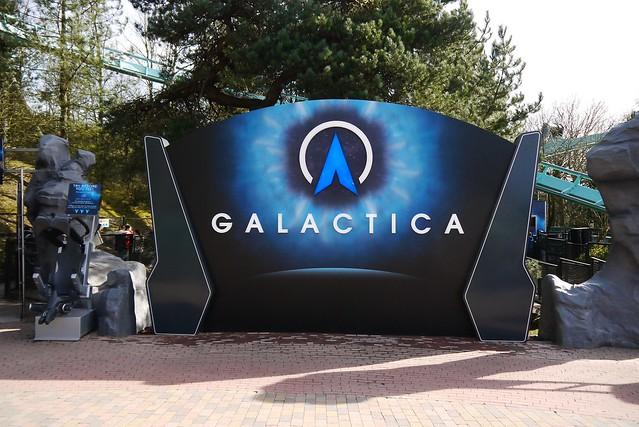 Galactica - Entrance