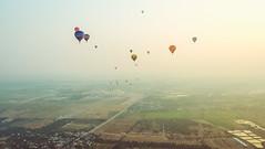 Lubao Hot air Balloon at Pradera Verde (12 of 29) (Rodel Flordeliz) Tags: travel sky hot air balloon billboard adventure oxygen riding hotairballoons pradera pampanga bataan lubao lubaohotair