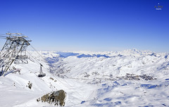 Panorama from Cime Caron (A. Wee) Tags: panorama france alps peak valthorens caron   troisvalles les3valles